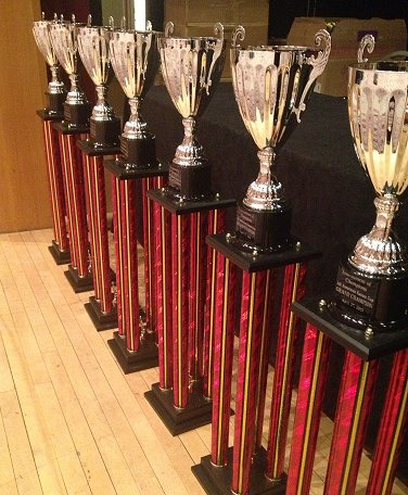 Karate Cups Awarded To All Grand Champions